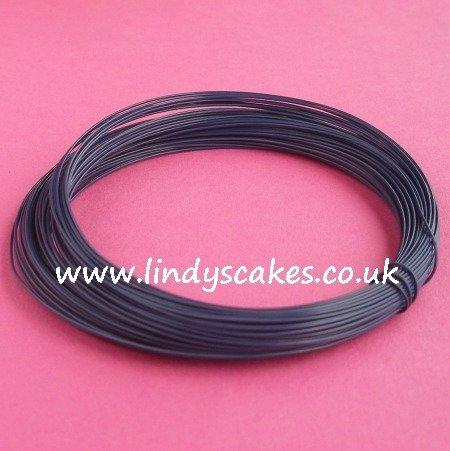 Blue - Dark Opaque Blue Coloured Craft Wire (0.5mm) SKU214748364812