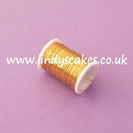 Gold Beading Wire (34g) SKU18303