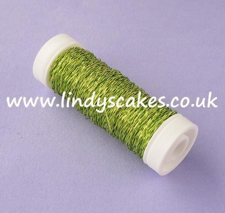 Green - Lime Green Bullion Wire SKU183092