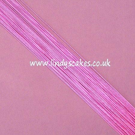 Purple - Metallic Violet Floristry Wire (24g) SKU1832211211111