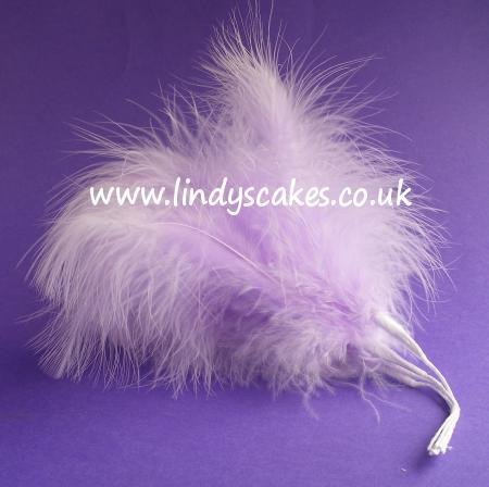 Lilac Wired Fluff Feathers SKU18208