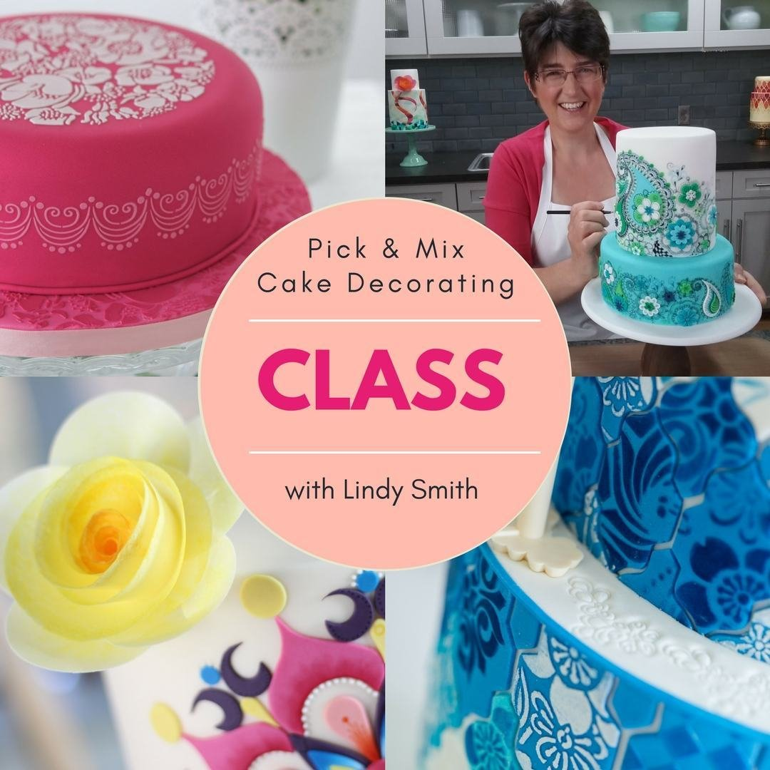 Pick & Mix Cake Decorating Class with Lindy Smith Ludlow, SHROPSHIRE 00012