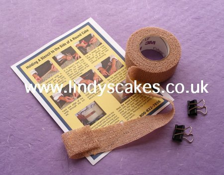 Side Stencil Fixing Kit SKU00020