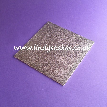 20cm (8in) Square Thin (3mm) Hardboard Cake Board SKU17719141411111111