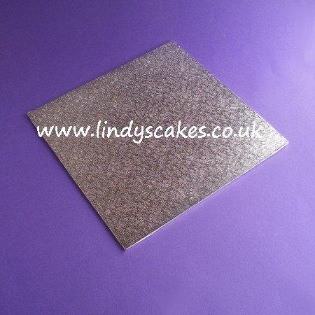 25cm (10in) Square Thin (3mm) Hardboard Cake Board SKU1771914141111111111