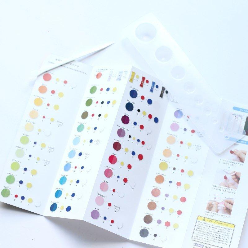 Artista Pigment Colour Chart