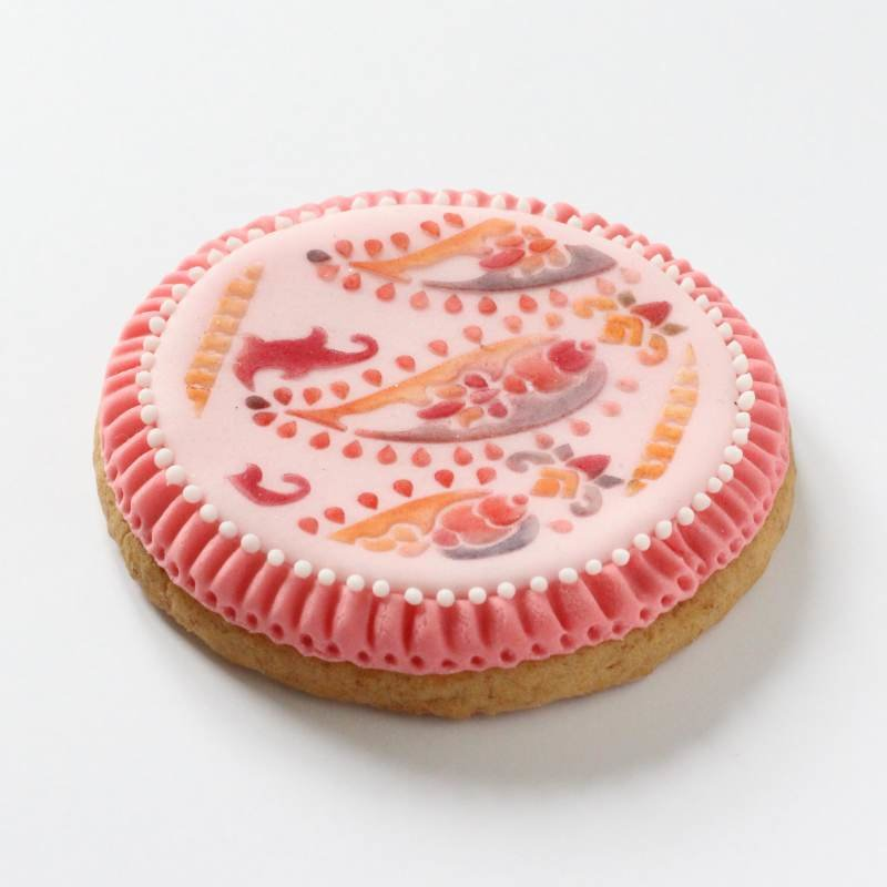 Paisley Circle Cupcake and Cookie Stencil (LC213) Lindy's SKU1894657261