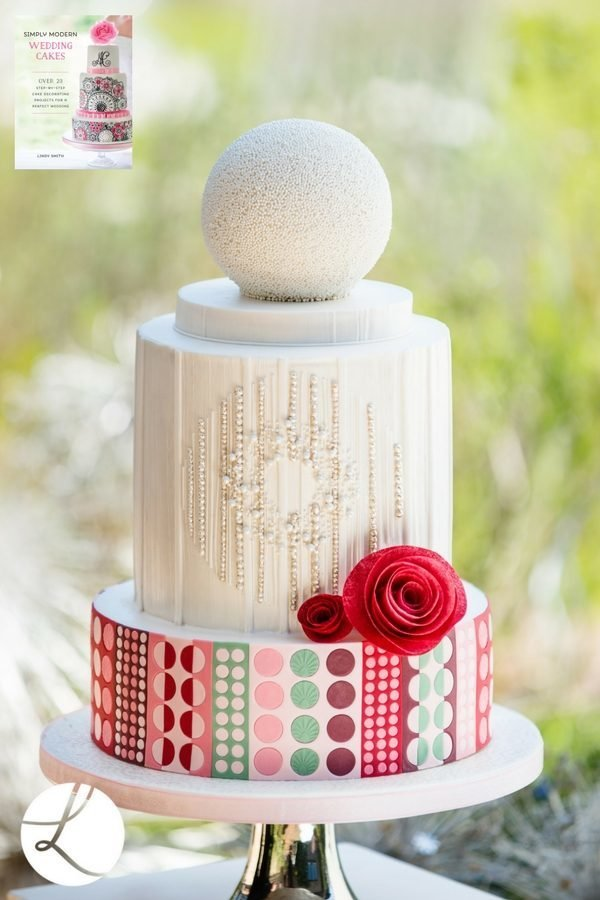 'Simply Modern Wedding Cakes' book by Lindy Smith