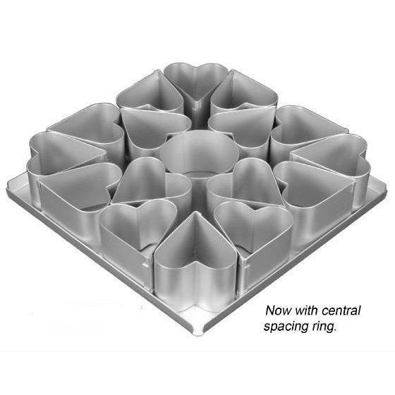 Mini Heart Cake Tin Set SKU17910