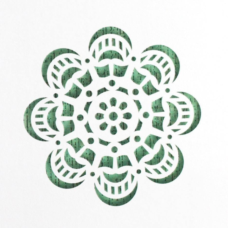 Mandala Cake Stencil #1 - CM058 00024
