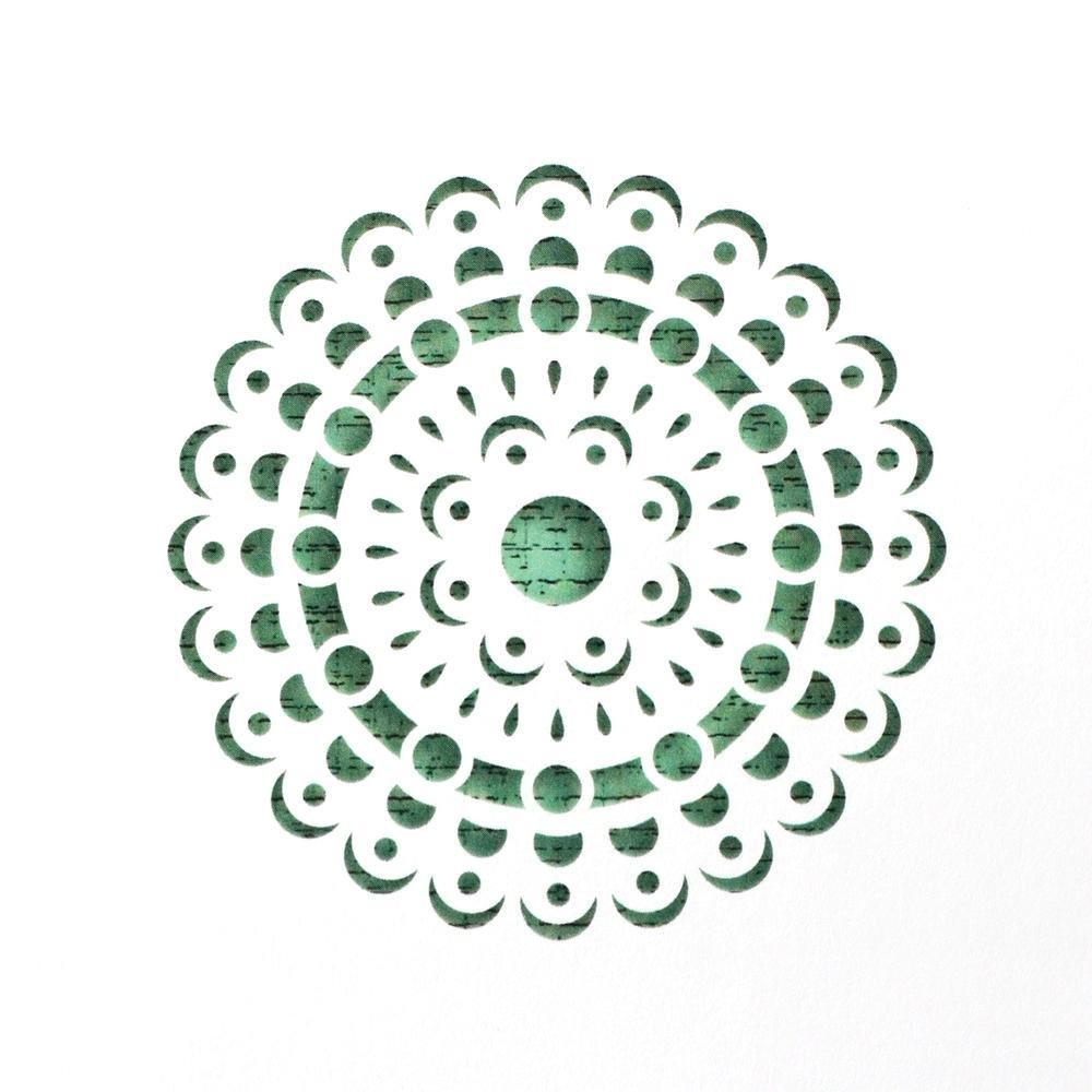 Mandala Cake Stencil #3 - CM060 00026
