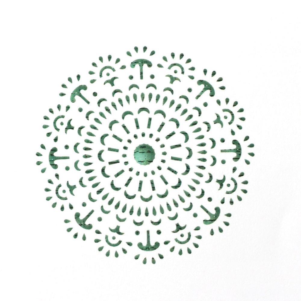 Mandala Cake Stencil #4 - CM061 00027