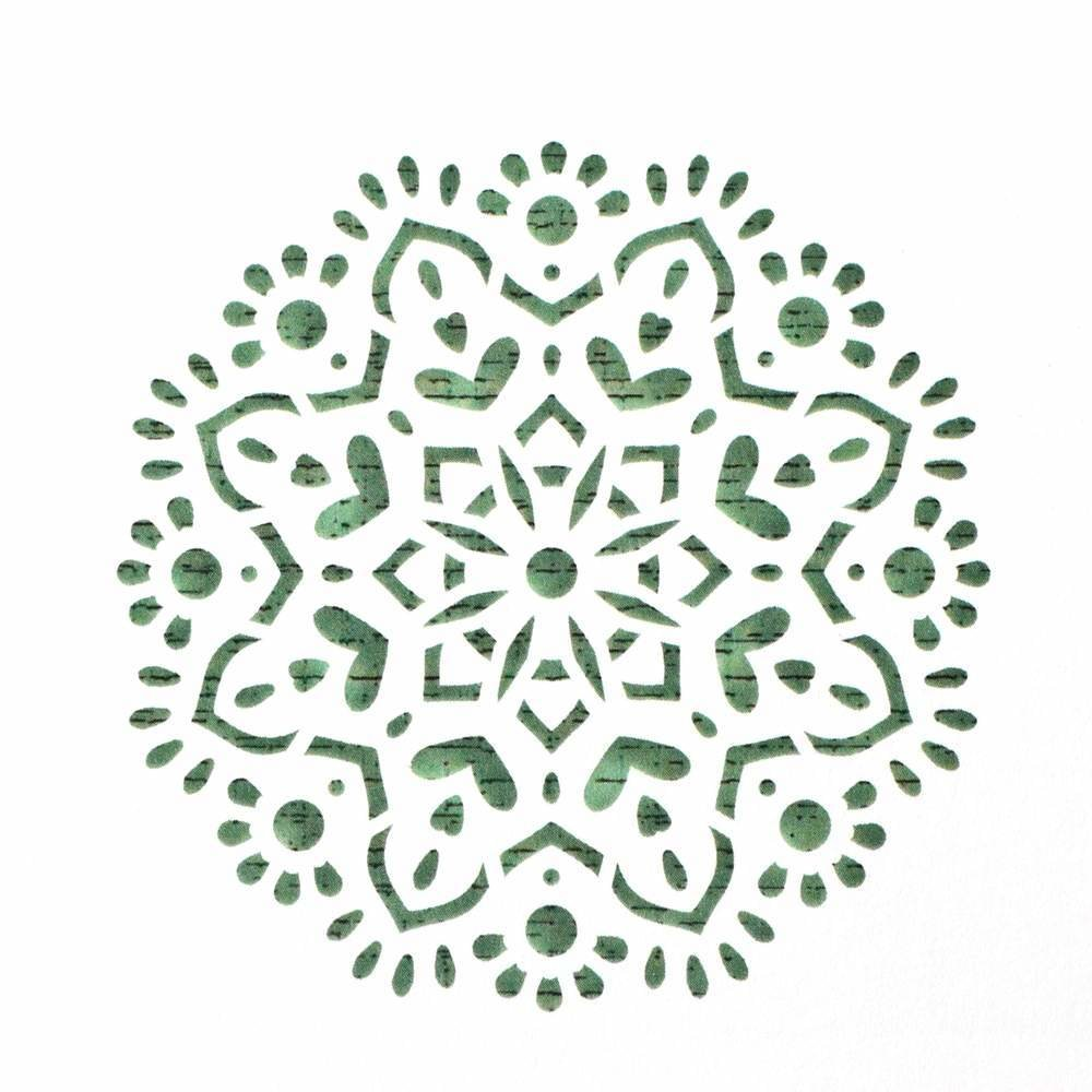 Mandala Cake Stencil #5 - CM062 00028