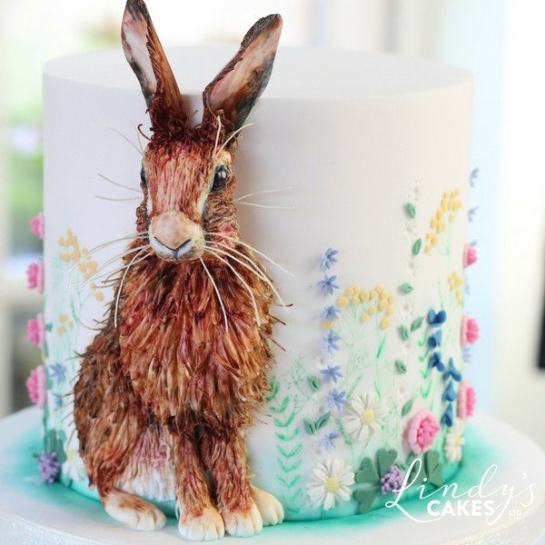 Bas-relief Hare Cake Decorating Class with Lindy Smith Ludlow, SHROPSHIRE 00035