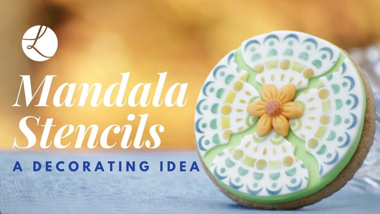 Mandala Cake Stencil #3 - CM060