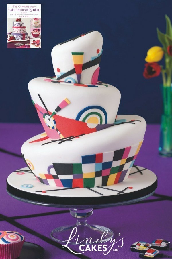'Contemporary Cake Decorating Bible' Book by Lindy Smith