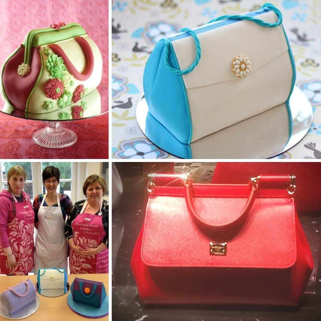Handbag Cake - Beginners Cake Carving Class with Lindy Smith Ludlow, SHROPSHIRE 00046
