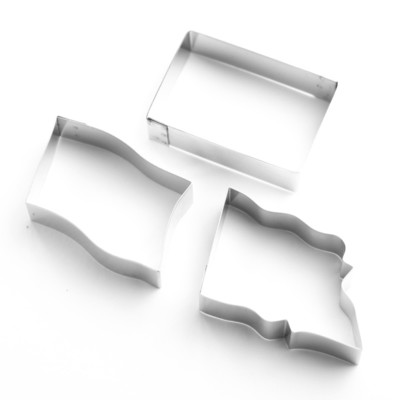 Flag Sugarcraft Cutters - Set of 3 (Lindy's)