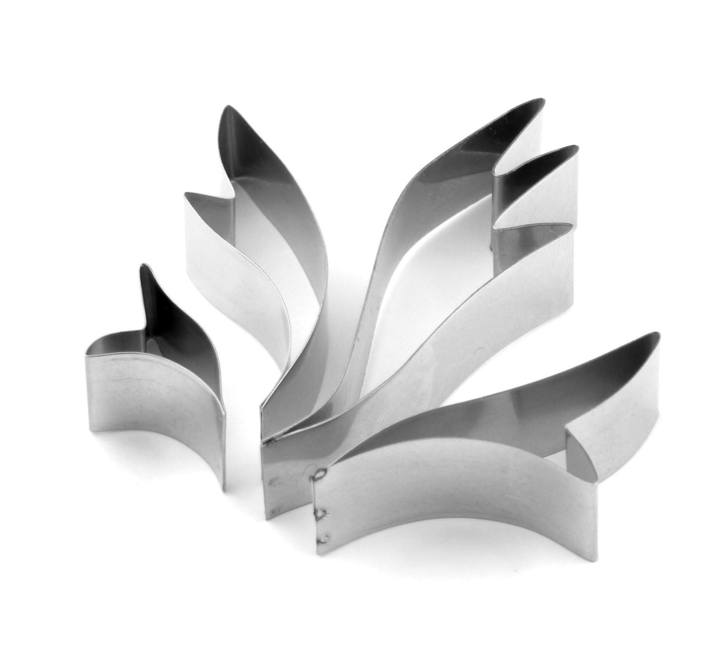 Leaves - Stylised Leaf Sugarcraft Cutters (Lindy's)