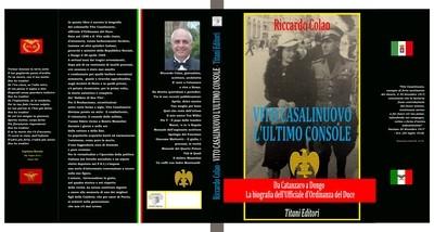 VITO CASALINUOVO - L'ULTIMO CONSOLE - Riccardo Colao