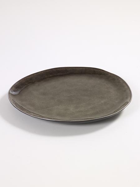 PURE Teller oval von SERAX Handarbeit