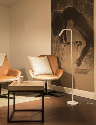 LED-Tisch / -Standleuchte dimmbar in schwarz oder weiß