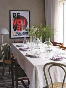 Tischdecken • Tischläufer • Servietten in 100% Leinen einfarbig
