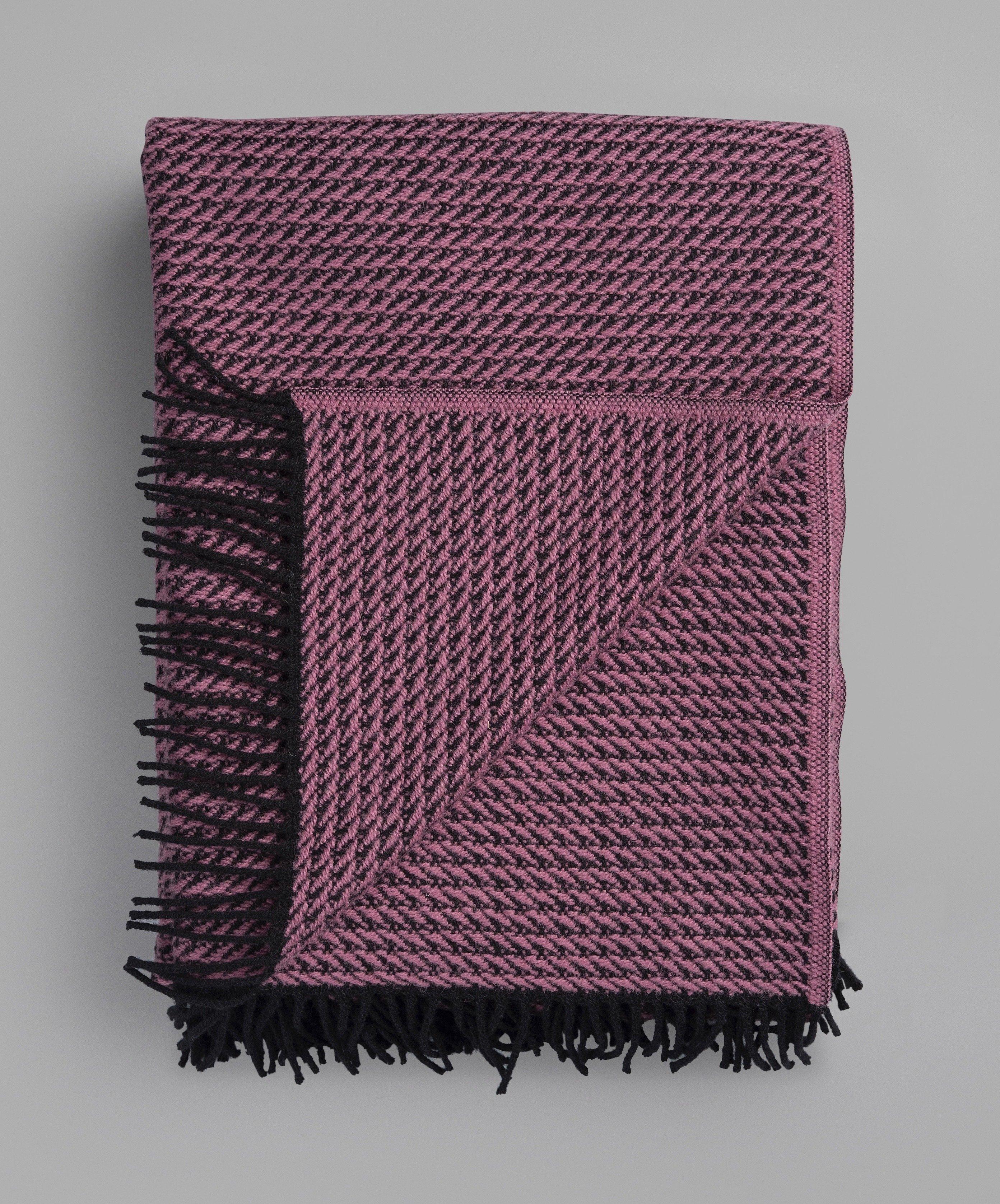 Norwegische Feinwolldecke Røros Tweed Frogner 150x210cm