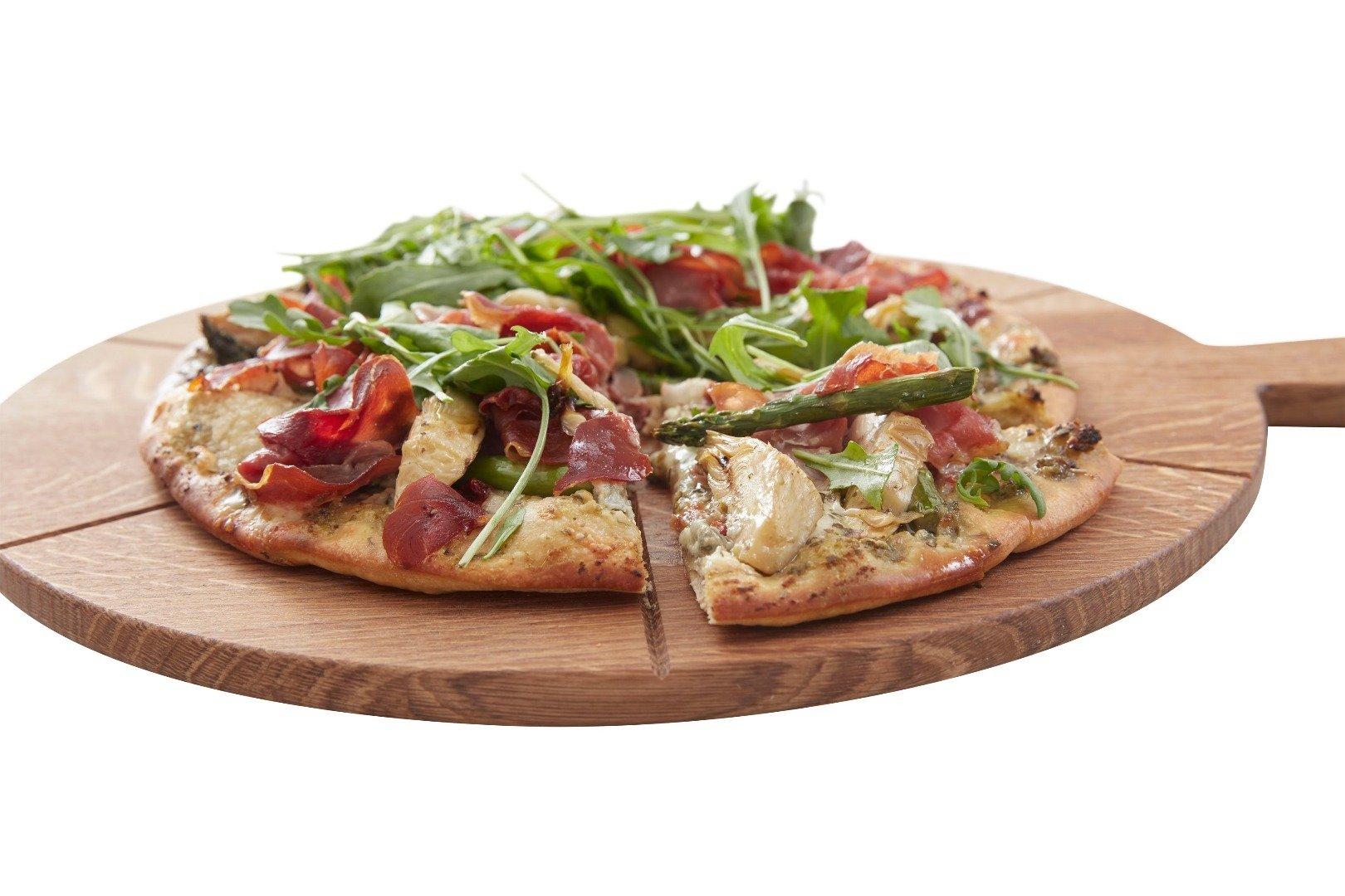 Tapas Eichenbrett • Servierbrett • Pizza Brett aus Eiche