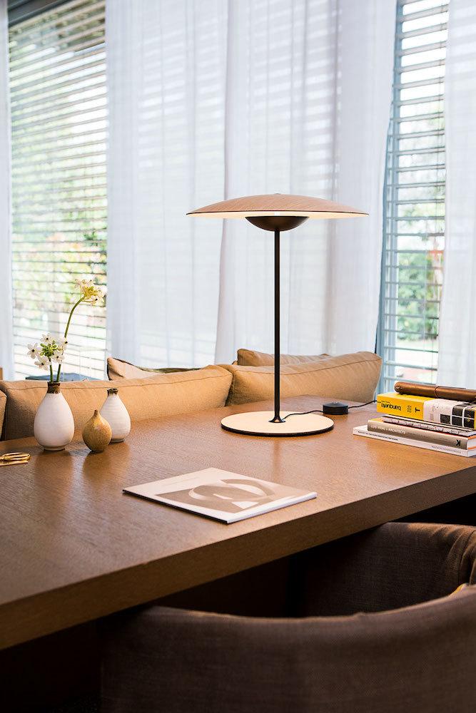Ginger LED Tischleuchte 46,5cm & 54cm dimmbar 56021