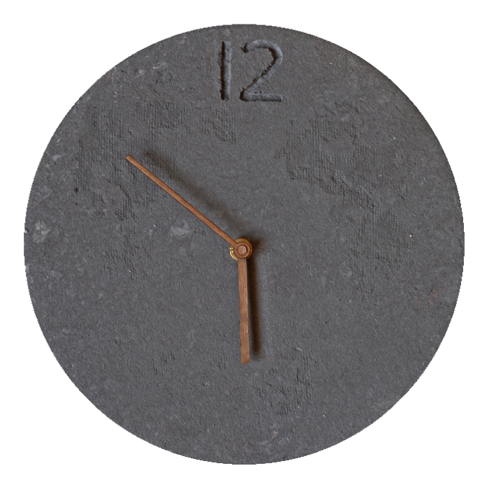 Design Papier Uhr 26cm • Handarbeit 56023