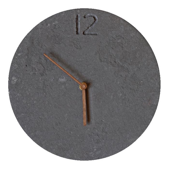Design Papier Uhr 26cm • Handarbeit