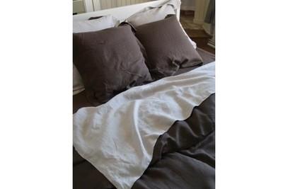 LIBECO Bettwäsche • Bettlaken Santiago 100% Leinen einfarbig