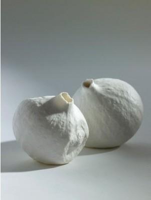 Porzellan Vase Calebasse von SERAX Handarbeit