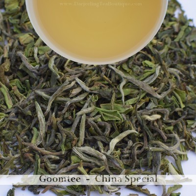 DELECTABLE AND DIVINE CHAMPAGNE FROM GOOMTEE  - Darjeeling 1st flush 2019  - 50gm (1.76oz)