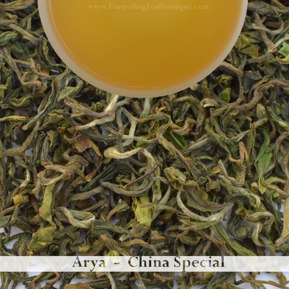 Sample: ARYA SPECIAL LIMITED EDITION  - Darjeeling 1st flush 2019  - 10gm (0.35oz)