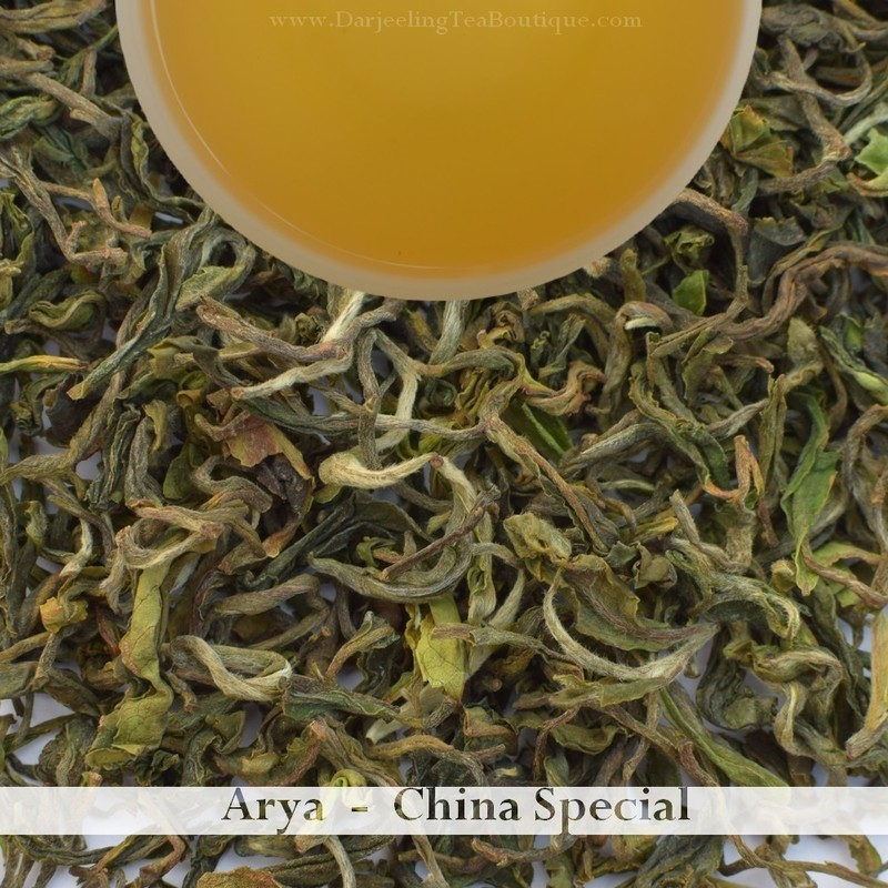 THE EXOTIC & SAVOURY ARYA Spl Edition - Darjeeling 1st flush 2019  - 50gm (1.76oz)