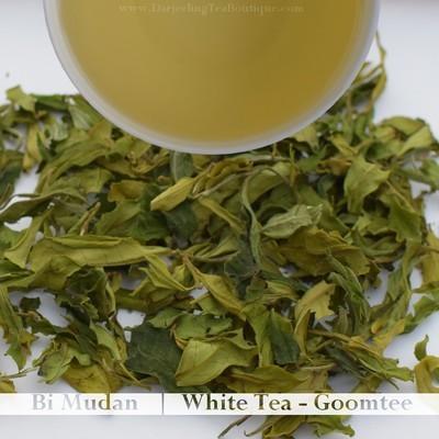 THE DIVINE & PURE WHITE TEA DARJEELING - Goomtee  (25gm / 0.88oz)
