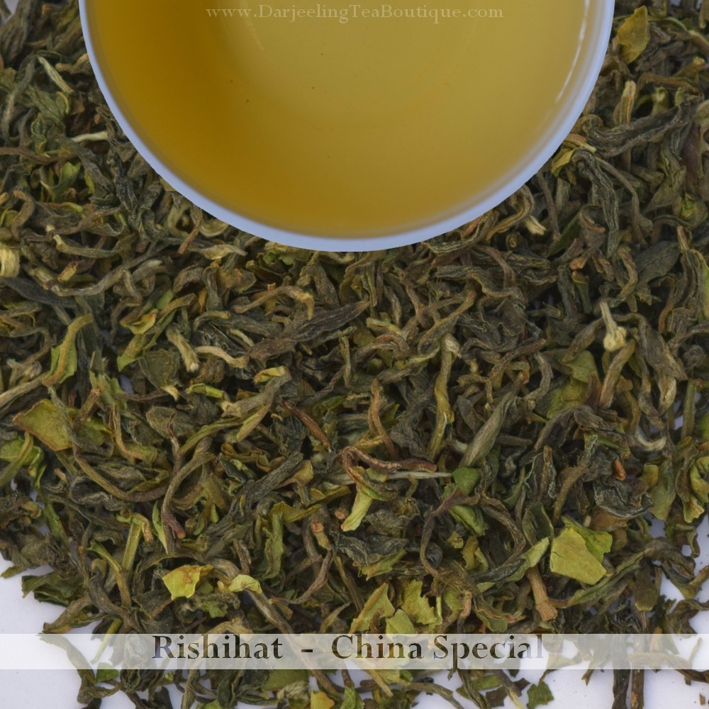 RISHIHAT CHINA SPECIAL  - Darjeeling 1st flush 2019  - 100gm (3.52oz)