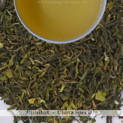 THE RICH & SAVOURY RISHIHAT Ch Spl - 1st flush Darjeeling 2019  - 100gm (3.52oz)