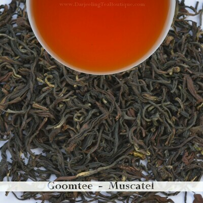AN EXQUISITE & TOOTHSOME GOOMTEE MUSCATEL - Darjeeling 2nd Flush 2019  (100gm / 3.5oz)