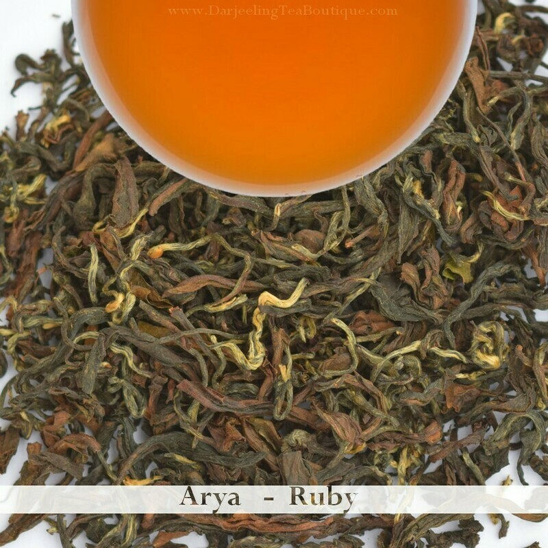 THE EXOTIC & DELIGHTFUL ARYA  - Darjeeling 2nd Flush 2019 (50gm / 1.76oz)