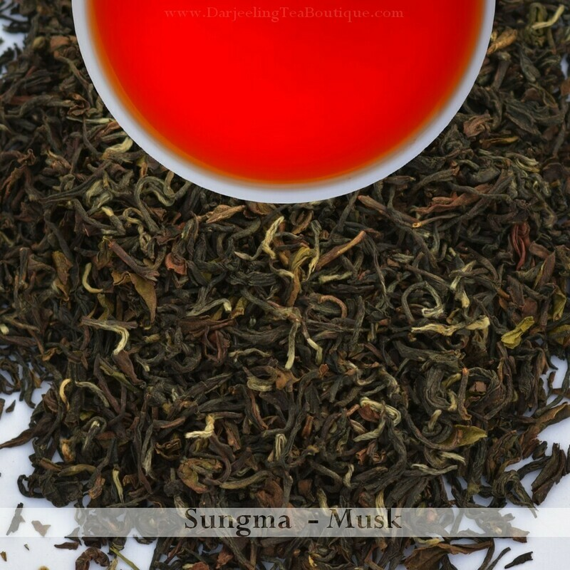 THE DELECTABLE & RICH SUNGMA MUSCATEL - 2019 Darjeeling 2nd Flush  (100gm / 3.5oz)