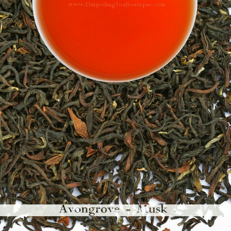 THE RICH AND SWEET AVONGROVE MUSCATEL - 2019 Darjeeling 2nd Flush  (100gm / 3.5oz)