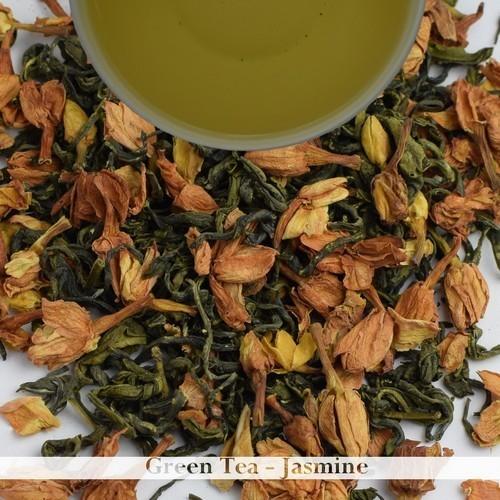 Jasmine Flavoured Green Tea - Darjeeling (100gm / 3.52oz)