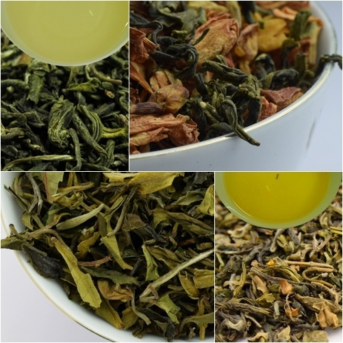 Sample Pack - Darjeeling Green & White Tea