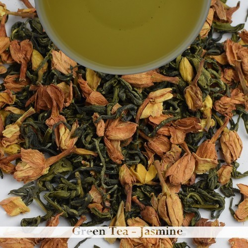 Jasmine Flavoured Green Tea - Darjeeling (100gm / 3.52oz)