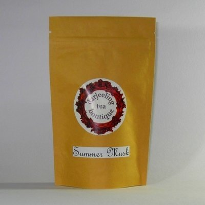 DELICIOUS DARJEELING TEA BAGS - Summer Musk