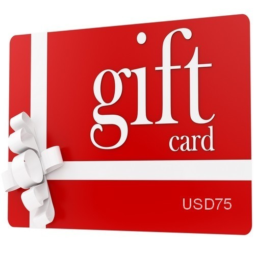 Gift Certificate (Value US$75)