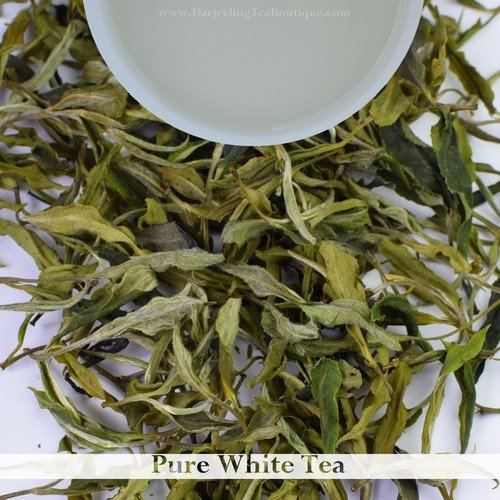 PURE WHITE TEA - Goomtee Darjeeling  (50gm / 1.76oz)